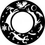 River Hill Logo - black
