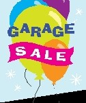 yard sale w balloons